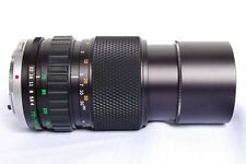 Olympus OM-System Zuiko 75-150mm F/4.0  Lens with caps and case  made in Japan