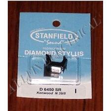 Kenwood N39/II Turntable Stylus Stanfield Part # D6450SR