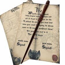 Wooden Hand Crafted Magic Wand Solid Mahogany Harry Potter Wizard Hogwarts Witch