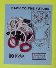 1990 Data East Back to the Future pinball rubber ring kit