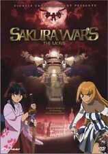 Sakura Wars: The Movie (DVD, 2003, Standard Edition) *