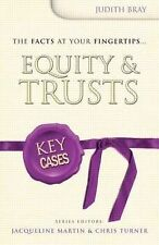 Judith Bray Equity and Trusts (Key Cases) Very Good Book