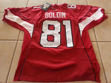 Anquan Boldin Arizona Cardinals Home Jersey Size 52 XL Red New Medium Damaged