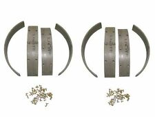 8 Brake Shoe Linings 1937-1941 Packard 6 cylinder NEW