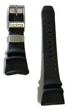 Original Citizen Eco-Drive Professional Diver Strap BJ8050-08E Black Rubber Band