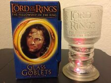 The Lord of the Rings Glass Goblet Collection 2001 Strider the Ranger LOTR
