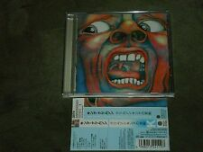King Crimson In the Court of the Crimson King Japan CD 30th Anniversary