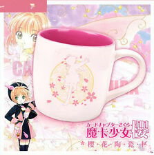 Card Captor Sakura Kinomoto Wing Ceramic Coffee Cup Mug Limited Original