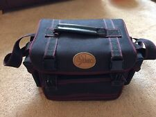 Jumbo Camera Padded Carry Case Fully Adjustable Inside And Strap Black Strong