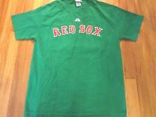 VINTAGE 2006 MAKESTIC MLB BOSTON RED SOX MIKE LOWELL GREEN JERSEY T-SHIRT SIZE L