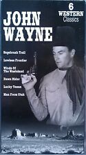John Wayne (VHS/EP, 1995) 6 Classic Westerns from the '30s