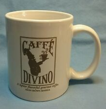 """CAFFE DIVINO """"SIMPLE PLEASURES...ONE CUP AT A TIME"""" COFFEE MUG"""
