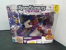 Transformers Cybertron Robot in Disguise Series Soundwave w/Laserbeak New/Sealed