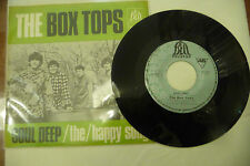 "THE BOX TOPS""SOUL DEEP-disco 45 GIRI BELL Yugoton 1968"""
