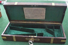 ANTIQUE CASE FOR A COLT 1851/61 NAVY PERCUSSION REVOLVER GUN.