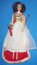 Vintage Walk Lively Miss America Doll #3200 Barbie 1972-1973 Scepter Cape Sash