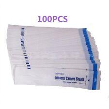 100PCS Dental Disposable Intraoral Camera Sleeve Camera Sheath Cover UK STOCK