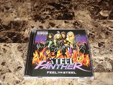 Steel Panther Rare Authentic Band Signed CD Feel The Steel Glam Rock + Photos