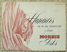 MORRIS ISIS Car Sales Brochure March 1955 #H&E 5479