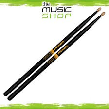 3x Pairs Promark Rebound Balance 7A Active Grip Hickory Drumsticks w Wood Tips
