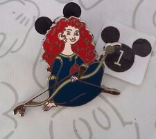 Merida in Gown Bow & Arrow Sitting Princess Brave Pixar Disney Pin Buy 2 Save $