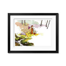 Calvin and Hobbes Explorer Poster Print