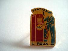 PINS RARE SGC STATION SERVICE POMPE ESSENCE L ROUX