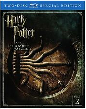 HARRY POTTER AND THE CHAMBER OF SECRETS - 2 DISC SPECIAL EDITION BLU-RAY