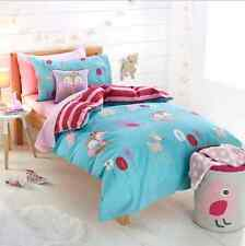 Woodland Animals Double Bed Quilt Cover & Fox Cushion Set