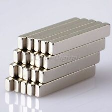 Lot 20pcs Strong Block Cuboid Bar Magnets N35 Rare Earth Neodymium 30 x 5 x 3mm