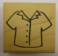 Short Sleeved Shirt Rubber Stamp - DeNami