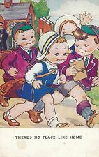 POSTCARD  CHILDREN   There's no place like home      Dinah   Tuck