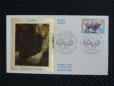 FRANCE FDC 1974 BISON BISONS WISENT WISENTE BUFALLO COVER c4523
