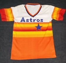 Nolan Ryan Houston Astros Jersey Vintage Throwback AUTHENTIC Old School RARE M/L