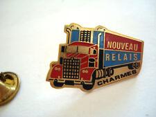 PINS RARE TRUCK CAMION ROUTIER NOUVEAU RELAIS CHARMES HOTEL AUBERGE