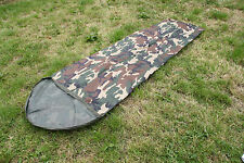 Woodland Camo Bivi Sleeping Bag Cover Waterproof Gore-tex Type Breathable Fabric