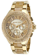 New Michael Kors MK5902 Womens Camille Gold-tone Watch