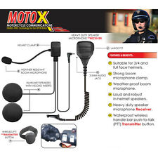 Earphone Connection MOTOX Motorcycle Headset For Motorola APX XPR Series Radios