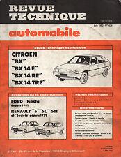 RTA revue technique automobile N° 434 CITROEN BX 14 E RE TRE