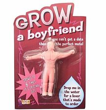 Grow Your Own A Boyfriend Partner Grows in Water Funny Gag Novelty Hen Stag