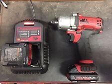 mac tools bwp038 3/8 Cordless Impact Gun Wrench  Kit