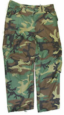 U.S. Military Surplus Cold Weather Field Pants - Woodland Camo - SIZE Large/Long
