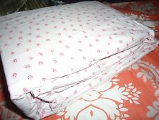 SIMPLY SHABBY CHIC MON AMI PINK GREEN PETITE FLORAL KING FITTED SHEET UP TO 18""