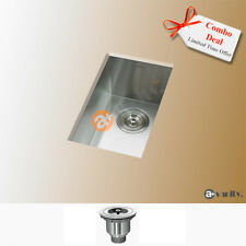 "10"" Zero Radius Stainless Steel Kitchen Bar Sink KUS1018"