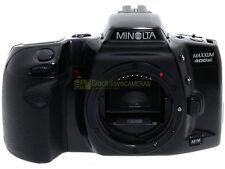 Minolta Dynax400si (Maxxum 400si). Reflex  autofocus a pellicola.