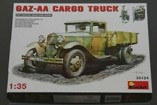 MIN35130 Miniart 1:35 - GAZ-MM Mod.1941 1.5t Cargo Truck photoetch & figures
