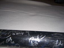 04 Yankess AAA Team Signed Bat Robinson Cano Chien-Ming Wang +19 Mariners