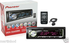 PIONEER DEH-X6600BS CD MP3 USB IPHONE AUX WMA IPOD BLUETOOTH SIRIUS XM READY
