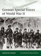 Elite: German Special Forces of World War II 177 by Gordon Williamson (2009, Pap