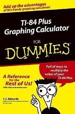 TI-84 Plus Graphing Calculator For Dummies by Edwards, C. C., Good Book